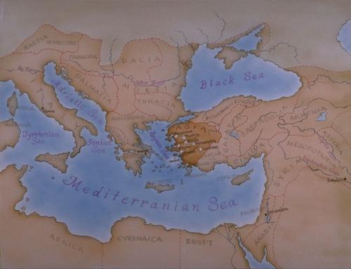 Apocalipse 1:11 Que dizia: Eu sou o Alfa e o Omega, o primeiro e o derradeiro; e o que vês, escreve-o num livro, e envia-o às sete igrejas que estão na Ásia: a Éfeso, e a Esmirna, e a Pérgamo, e a Tiatira, e a Sardes, e a Filadélfia, e a Laodicéia.